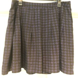 Jcrew Aline Skirt - navy and black